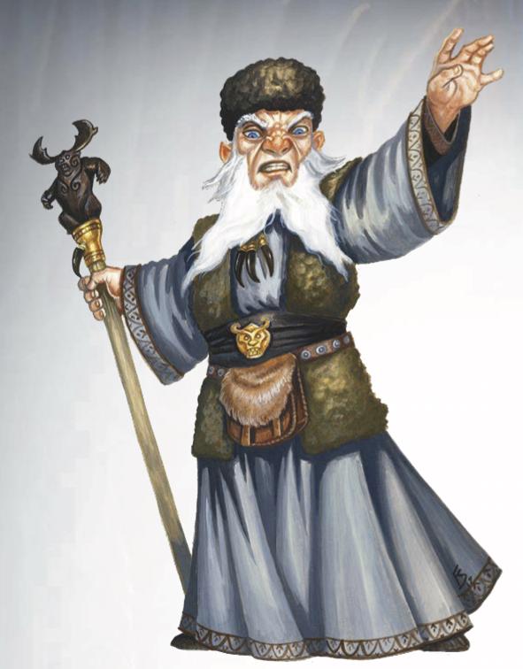 Gnome priest of Chernobog