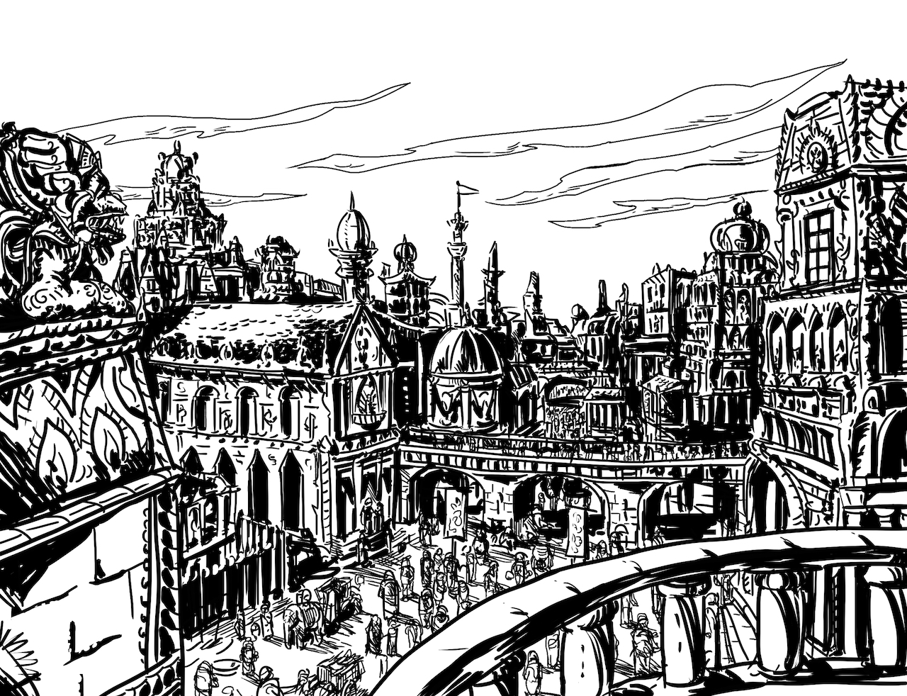 Parsantium's Temple Ward by Matt Morrow