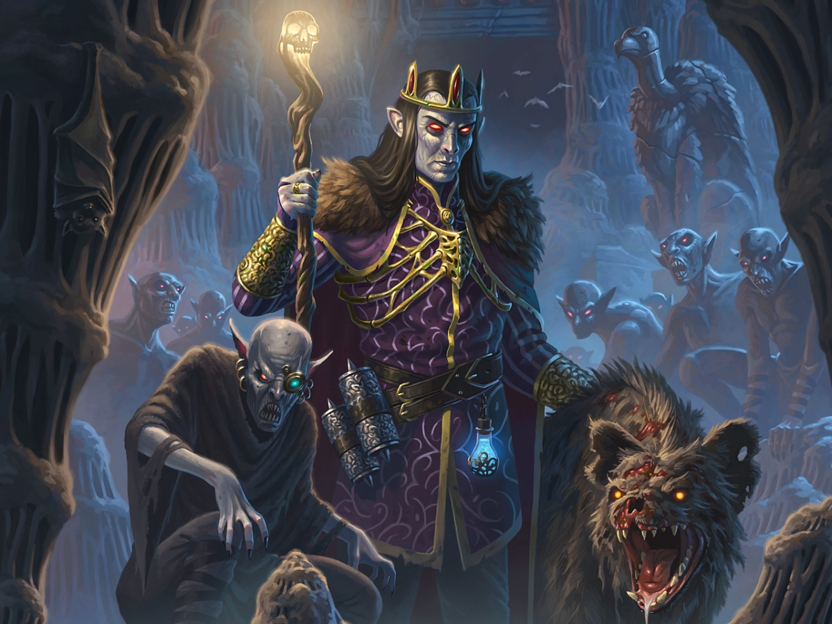 Emperor Nicoforus and the ghoul legions